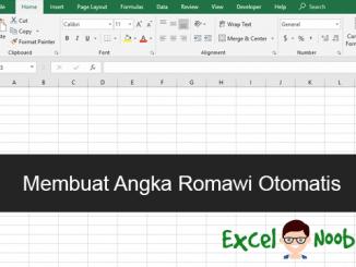 Cara Membuat Angka Romawi Otomatis