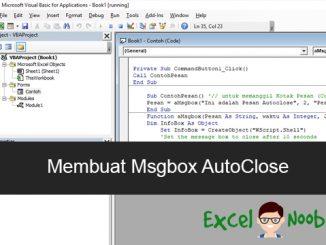 Msgbox AutoClose