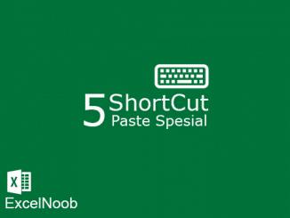 5 shortcut paste special