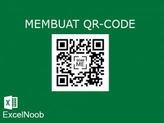 Membuat QR Code di Excel