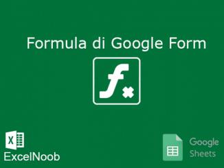 Rumus di Submit Google Form
