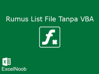 List File Tanpa VBA Thumb