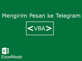 Mengirim Pesan Ke Telegram