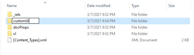 Menambah Folder CustomUI